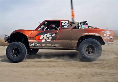 baja trophy truck 41st annual score baja 1000 great run for k n sponsored