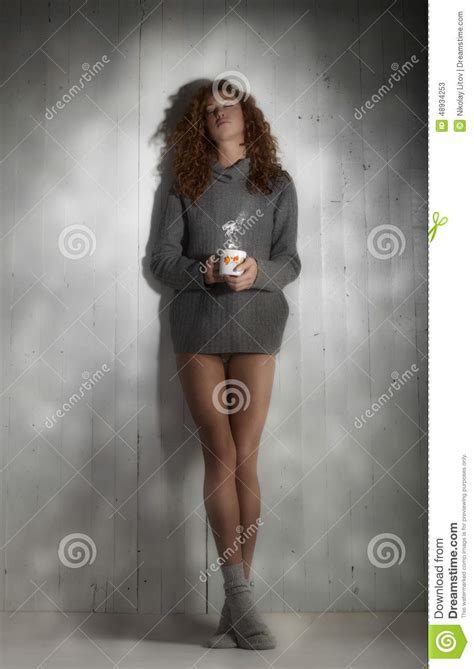 Tinted Image With A Coffee Stock Image Image Of Cafe Breakfast