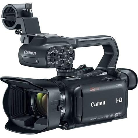canon professional canon xa30 professional camcorder 1004c002 b h photo