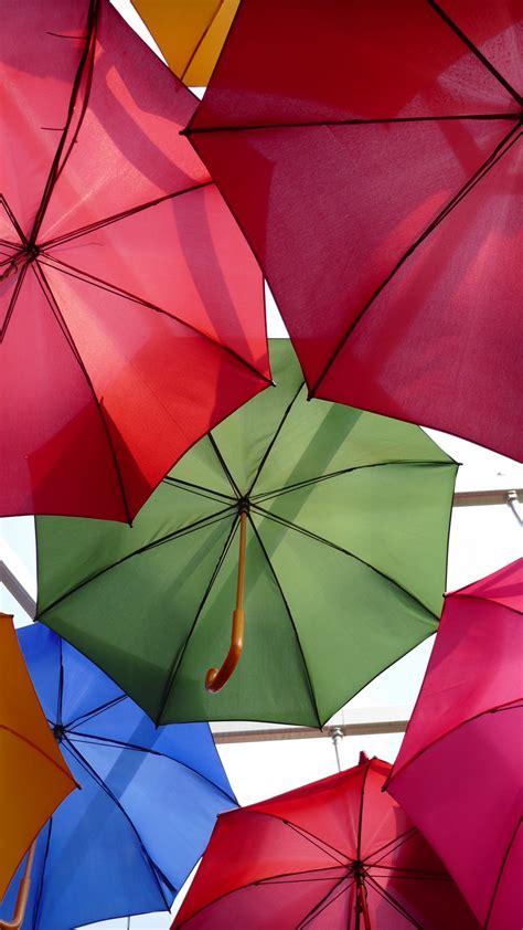 wallpaper umbrellas colorful panasonic lumix cm stock