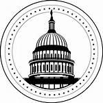 Capitol Clipart Dc Drawing Michigan Building Capital