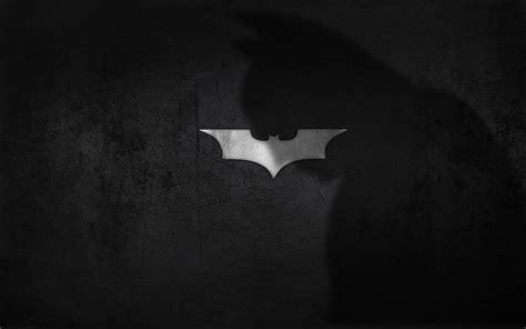 Hd Background Batman Logo Shadow Black Wallpaper