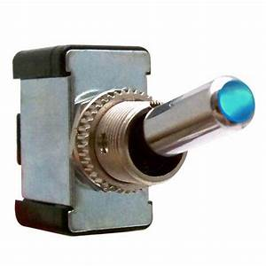 All-metal Toggle Switch With Led  12v