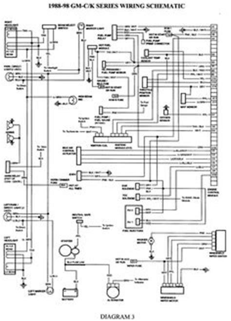 Silverado 1998 Wiring Harnes by Wiring Diagram For 1998 Chevy Silverado Search