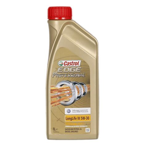 longlife öl 5w30 huile moteur castrol edge professional titanium fst