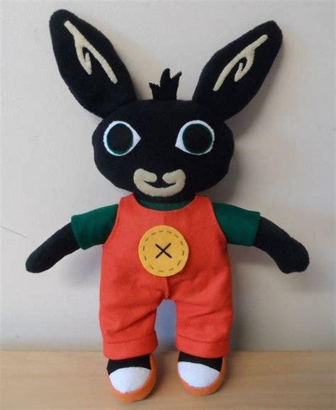 bing bunny  tv show plushie sewing  cut