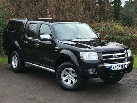 ford ranger  tdci xlt thunder double cab crewcab pickup