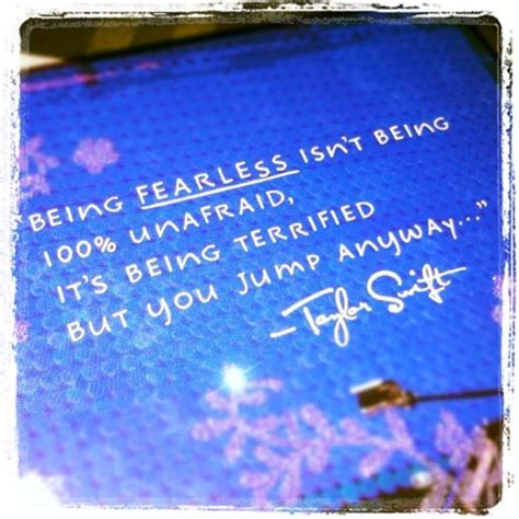 Fearless Quotes Taylor