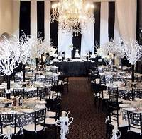 black and white decorations Pin by Gina Whitlock on Wedding Stuff in 2019   Black ...