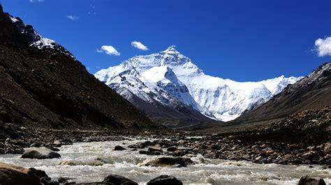 tibet everest natural scenery wallpaper
