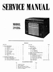 Ferguson 391 Rg 6x Valves Radio Gramophon Sm Service Manual Download  Schematics  Eeprom  Repair