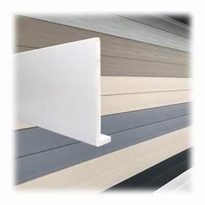Planche Mélaminé Blanc : planche de rive a clouer pvc blanc en l ep9 h200 longueur ~ Dode.kayakingforconservation.com Idées de Décoration