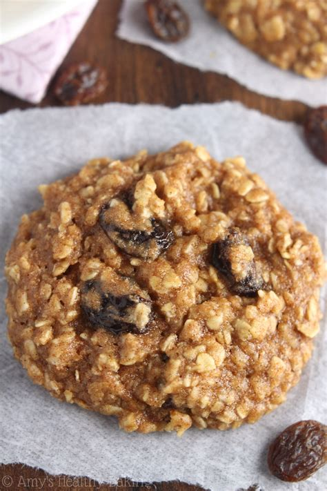 ultimate healthy soft chewy oatmeal raisin cookies