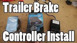Tekonsha Trailer Brake Controller Install