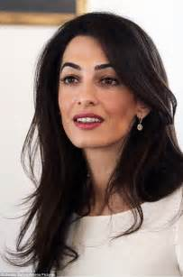 Lipstick Removal From Carpet by Amal Clooney Leaves Athens Hotel Ahead Of Meeting Over