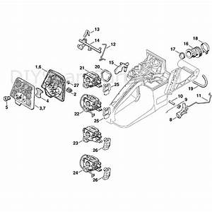 Stihl Ms 360 Chainsaw  Ms360 Pro  Parts Diagram  Air