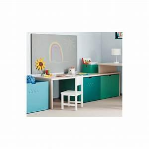 Bureau Enfant Avec Rangement : premier petit bureau enfant avec caisses de rangement sign asoral ~ Melissatoandfro.com Idées de Décoration