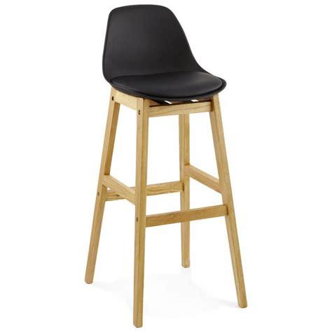 tabouret de bar chaise de bar design scandinave florence noir