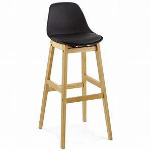 Chaises De Bar Scandinaves : tabouret de bar chaise de bar design scandinave florence noir ~ Teatrodelosmanantiales.com Idées de Décoration