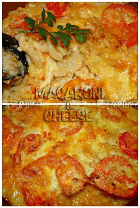 south african recipes macaroni  cheese chilliliefde