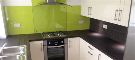 lime green glass splashbacks for kitchens kitchen in hamilton with a lime green contrast 9697