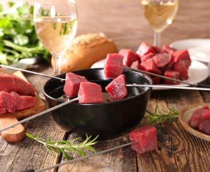 recette de cuisine en photo fondue bourguignonne et sauces d 39 accompagnement recette
