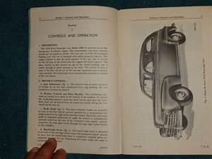 Find 1948 Ford Car V8 Model 899a Owner U0026 39 S Manual