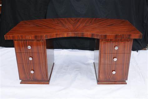 art deco desk l art deco pedestal desk writing table 1920s furniture ebay