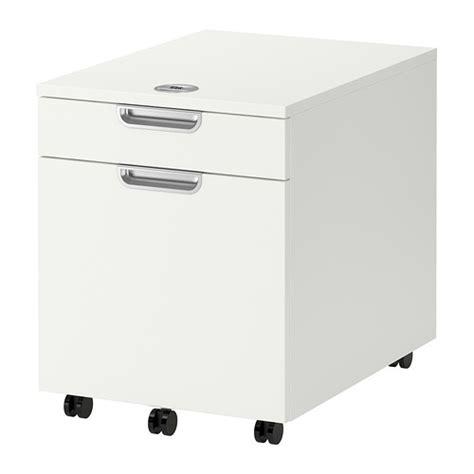 bureau avec caisson dossier suspendu galant caisson classeur blanc ikea