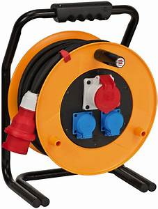 Brennenstuhl Kabeltrommel 40m : brobusta cee 1 ip44 industrie baustellen kabeltrommel 40m ~ Watch28wear.com Haus und Dekorationen