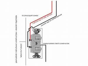 Have A Question About Wiring Separate Light And Exhaust Fan In A Bathroom  They Are Separate