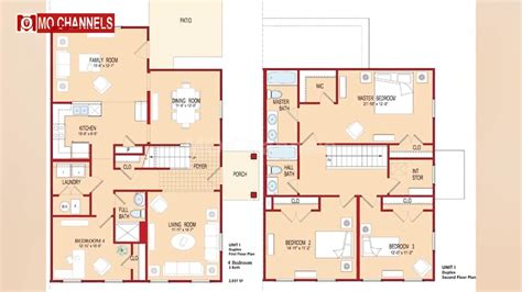 Home Design Youtube Channels : Best 30 Home Design With 4 Bedroom Floor Plan Ideas