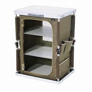 Meuble Rangement Camping : meuble camping meuble camping valise montage automatique trigano ~ Teatrodelosmanantiales.com Idées de Décoration