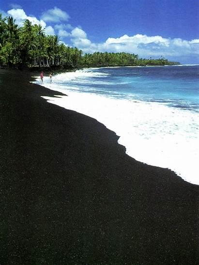 Beaches Sand Unique Lava Why Unusual Rock