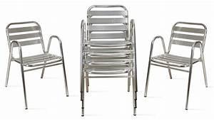 Fauteuil Jardin Aluminium : fauteuil de jardin en aluminium ~ Teatrodelosmanantiales.com Idées de Décoration