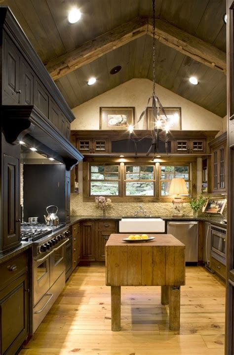 country kitchen bath nc a vaulted ceiling covered in wooden planks and crossed by 5993