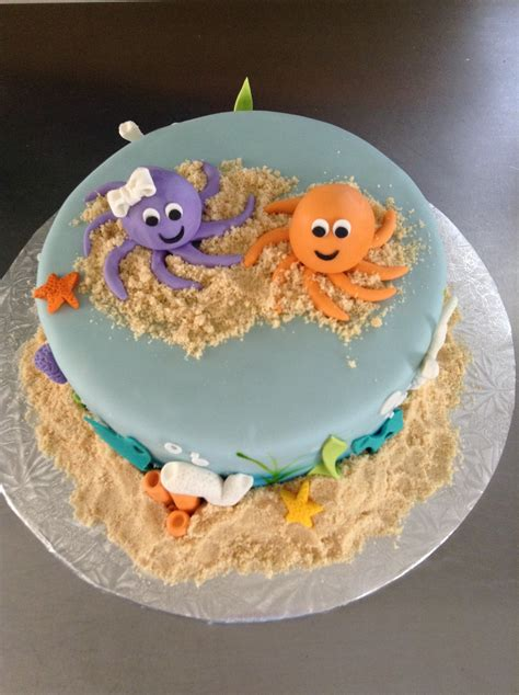 ocean cake cakecentralcom