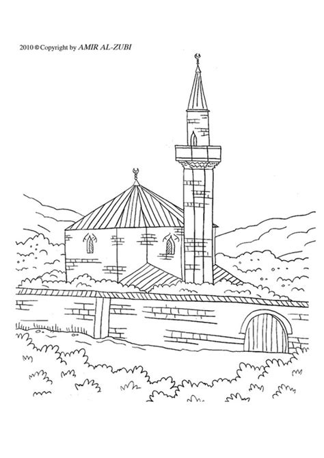 Moskee Kleurplaat by Kleurplaat Moskee Afb 22007 Images