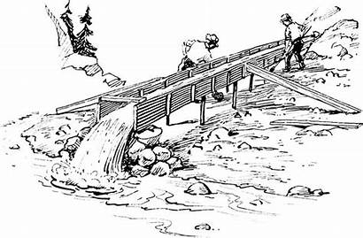 Sluice Mining Colouring Psf Coloring Commons Wikimedia