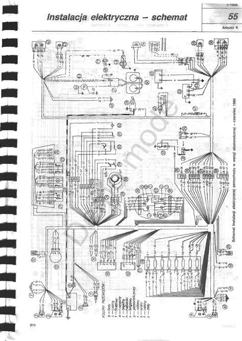 fiat p schemat instalacji elektrycznej  modulem