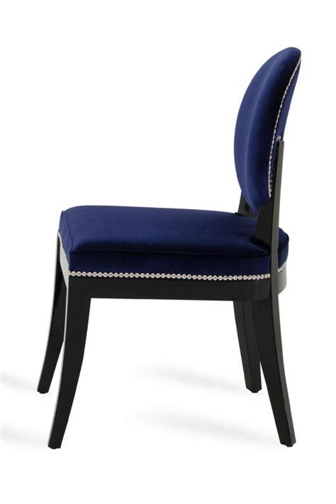 a x modern blue dining chair