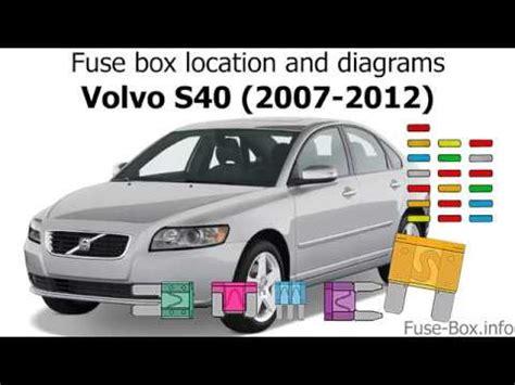 Fuse Box Location Diagrams Volvo