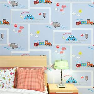 Cute cartoon cars traffic design wallpaper lovely baby