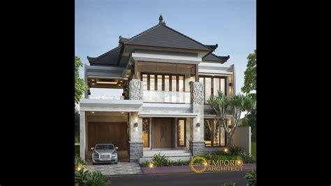 jasa arsitek desain rumah villa bali tropis bapak edy