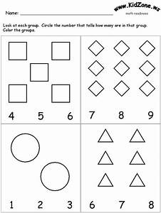 This site has great preschool learning activity sheets ...