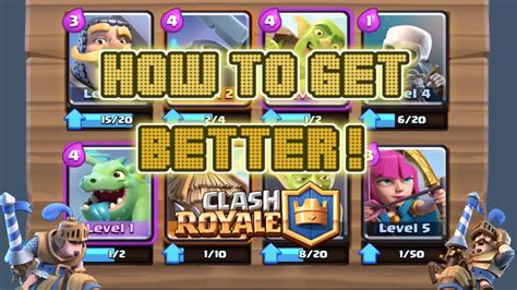 clash royale tips how to get better in clash royale