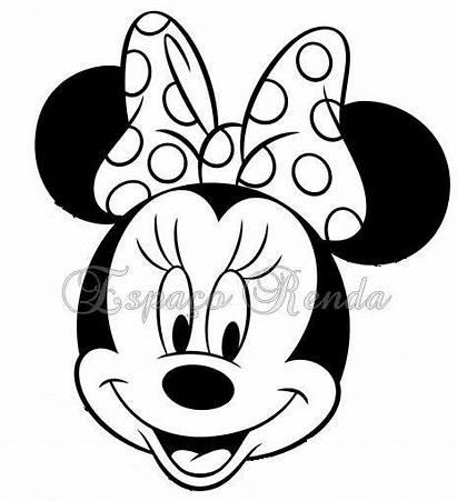 Minnie Mouse Cara Molde Moldes Google Imagui