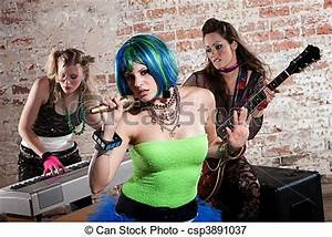 Picture of Female punk rock band - Young all girl punk ...