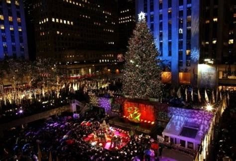 nyc tree lighting 2016 rockefeller center christmas tree lighting 2017 best