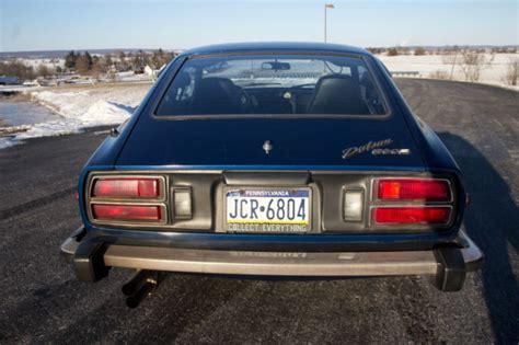 Msa Datsun by Datsun 260z Blue 4spd Manual 54k Su Carbs Msa